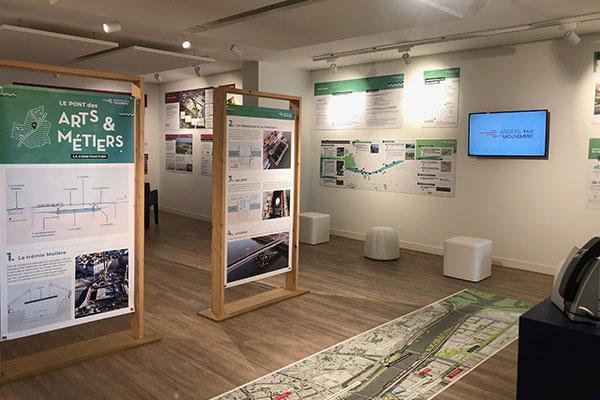 Tramway et Coeur de Maine: du neuf à la Maison des projets