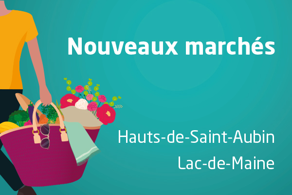 Deux nouveaux marchés ouvrent à Angers en avril