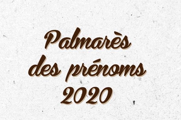 Palmarès des prénoms 2020 à Angers