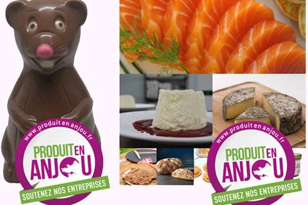 Des colis Produit en Anjou en soutien aux entreprises