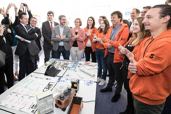 Nicolas Hulot à Angers pour lancer le plan de rénovation énergétique du bâti