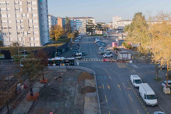Le boulevard Allonneau partiellement fermé à la circulation