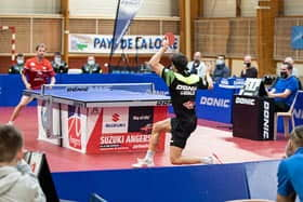 Tennis de table: Angers/Bogoria