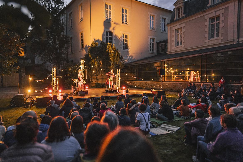 Photo du festival Tempo2Rives à Angers.