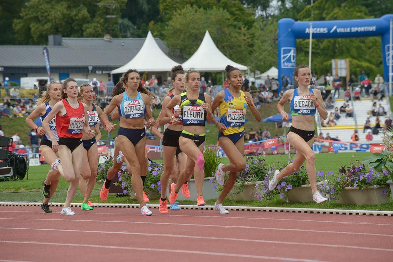 Photo de la finale du 1500m