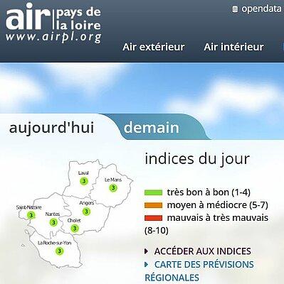 Respirer en Pays de la Loire
