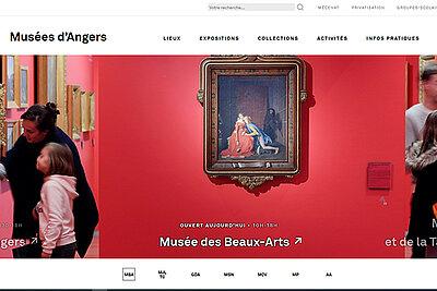 Le nouveau site des musées d'Angers est en ligne