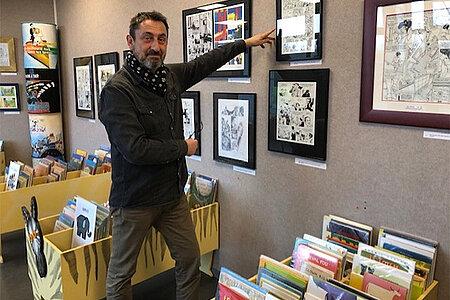 Du crayonné à la couleur directe: 70 ans de bandes-dessinées