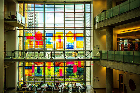 Visite virtuelle de la bibliothèque publique d'Austin