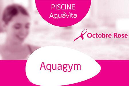 Aquagym pour Octobre rose