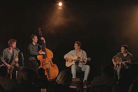 "Maëlstrom Quartet – Concert ""jazz et vins"""