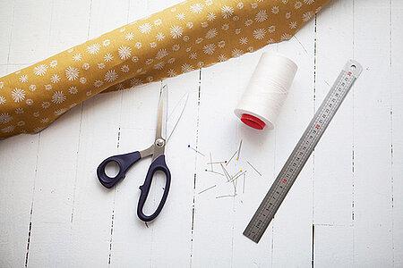 Atelier de couture zéro déchet