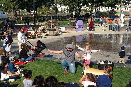 Atelier parents/enfants de rythmes et percussions signés
