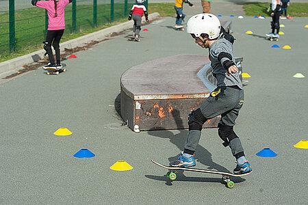 Initiation au skate pour adultes