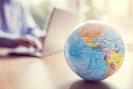 Cafés-pays de l'international week