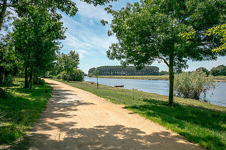 Angers Bike Tour vers l'île Saint-Aubin