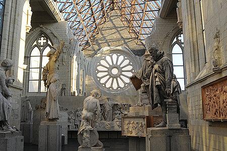 Découverte de l'architecture de la galerie David-d'Angers