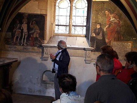 Conférence historique à l'église Saint-Aubin