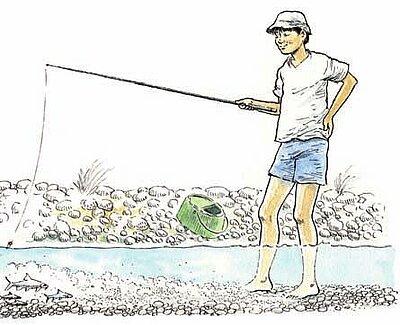 Pêche à trousse-culotte