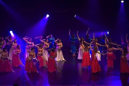 Danse fusion orientale
