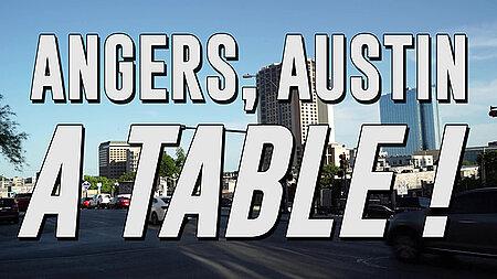 Vinorama Angers, Austin, à table