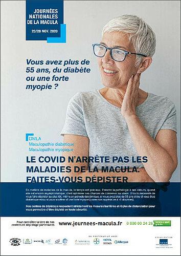 Campagne de dépistage sur la Dégénérescence maculaire liées à l'âge (DMLA)