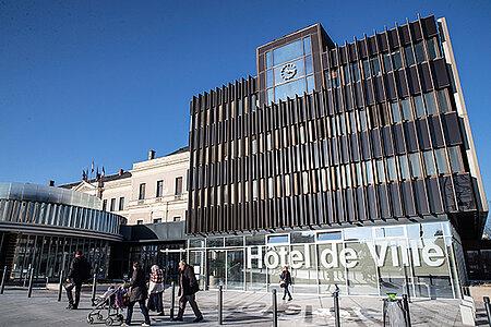 Visite de l'hôtel de Ville d'Angers
