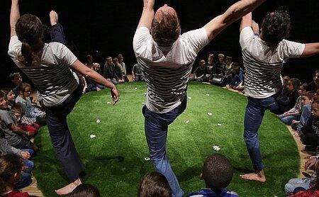 Atelier danse parents/enfants Le bal à Boby