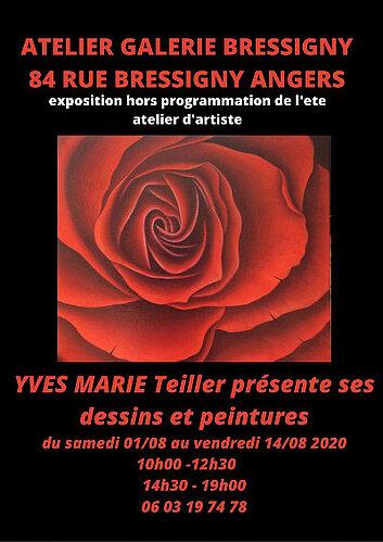 Exposition Yves Marie TELLIER
