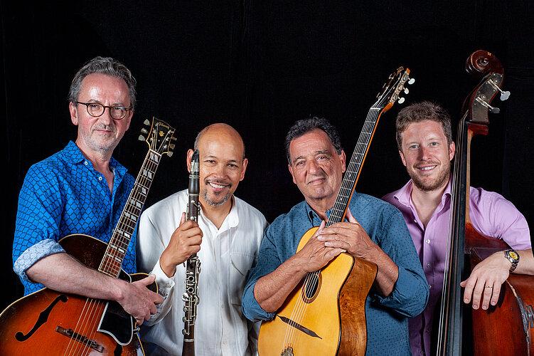 Evan Christopher et Fapy Lafertin quartet