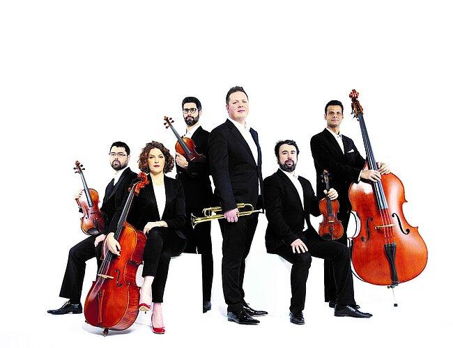 Romain Leleu sextet - ensemble à cordes et trompette