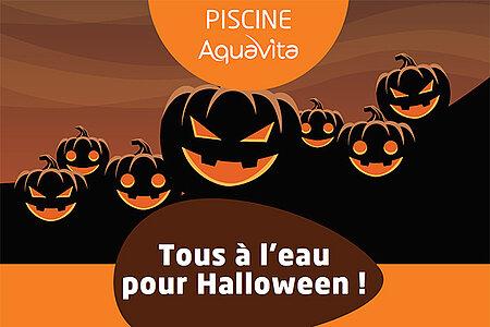 AquaVita fête Halloween