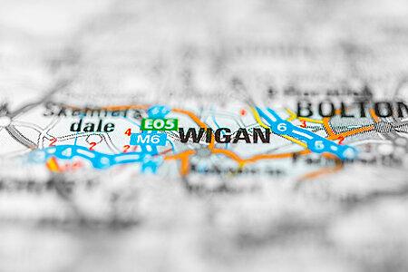 Wigan, d'hier à aujourd'hui