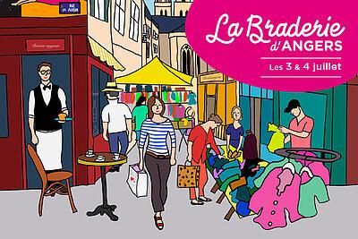 La Braderie d'Angers revient cette année du 3 au 4 juillet, avec un nouveau format