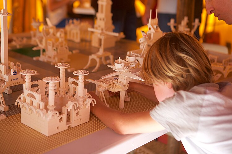 """Atelier lego 5-8 ans """"Les petits architectes"""""""
