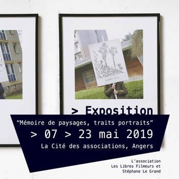 """Exposition """"Mémoires de paysages, traits portraits"""""""