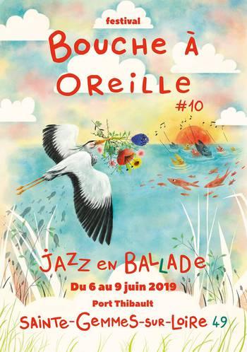 Echo musical gemmois, Geoffroy Tamisier, Céline Bonacina Crystal Quartet et les élèves CS de jazz