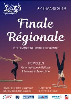 Finale régionale de gymnastique