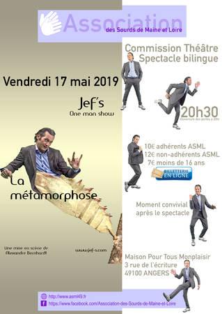 "Jef'S ""La Métamorphose"""