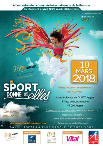 Le Sport Donne des Elles à l'ASPTT ANGERS