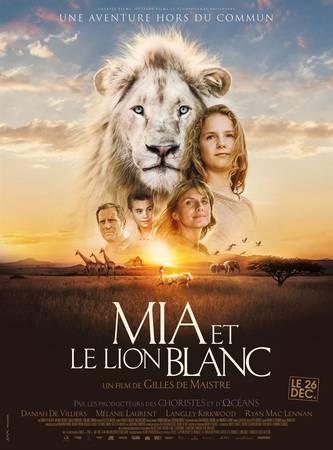 Séance ciné plein air « Mia et le lion blanc »