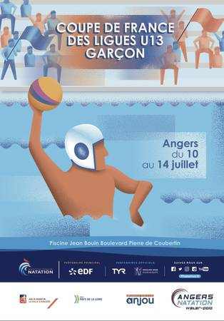 Coupe de France des Ligues U13 de Water Polo