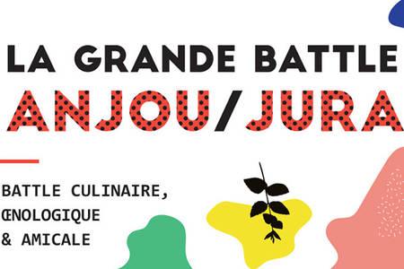 La grande battle culinaire, oenologique et amicale Anjou/Jura