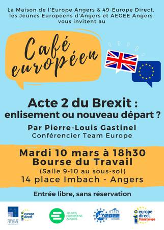 Café européen sur le Brexit