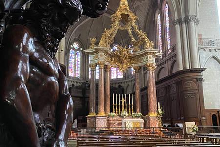 Visite de la cathédrale Saint-Maurice