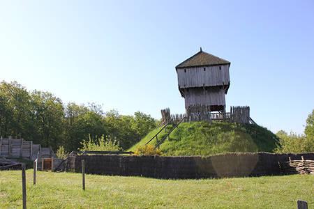 Visite libre du château à motte