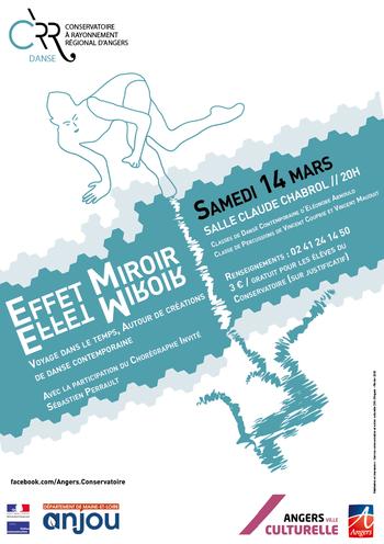 Effet Miroir - Voyage dans le temps autour de créations de danse contemporaine