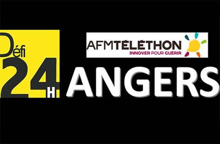 Défi 24H Angers Téléthon