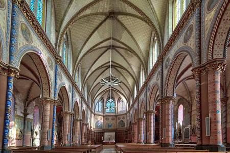 Visite de l'église Sainte-Thérèse