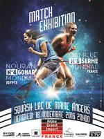 Image Squash: match d'exhibition féminin
